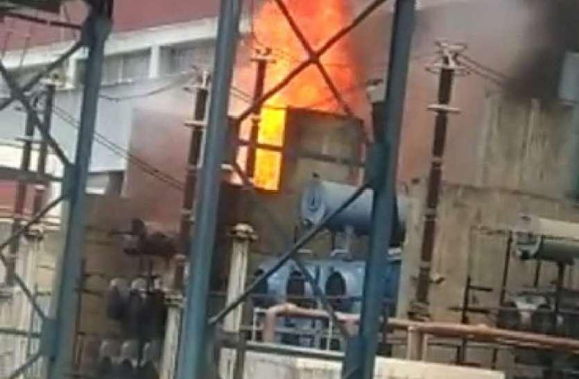 आग की घटना में प्रभावित एनटीपीसी की आठ यूनिट, दूसरे दिन भी डाउन रहा सिस्टम