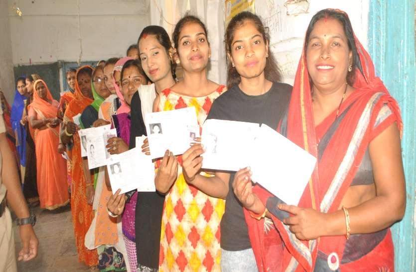 आष्टा के अल्पसंख्यक और दलित क्षेत्र में बंपर वोटिंग