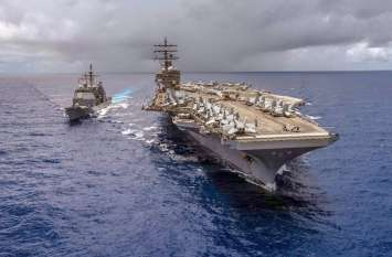 दक्षिण चीन सागर में बढ़ा अमरीका का दबदबा, नेवी ने चलाया 'फ्रीडम ऑफ नेविगेशन' ऑपरेशन
