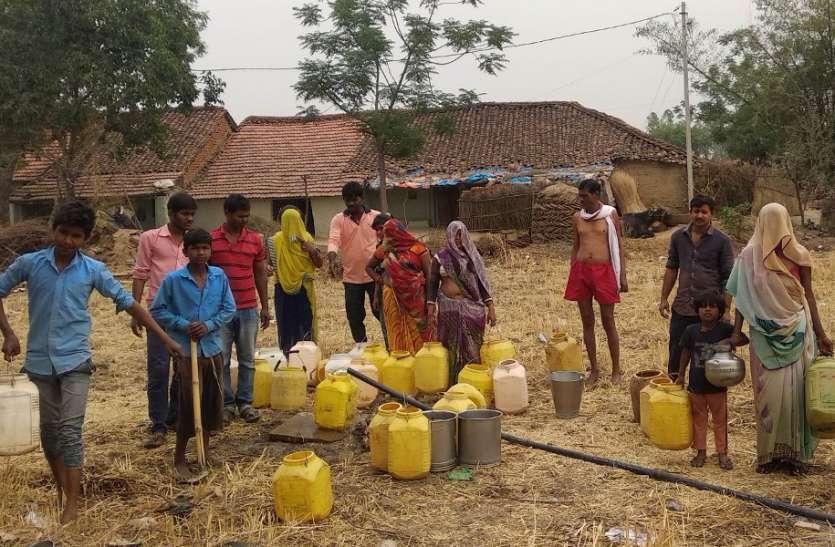 रीवा जिले के तराई अंचल में पानी का हाहाकार