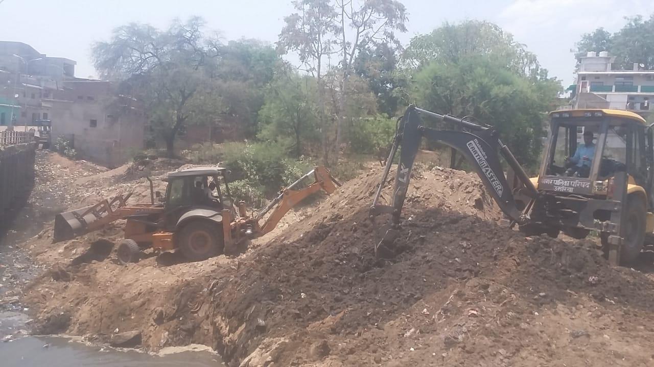 गांव के बाद नगर के जलस्त्रोतों के संरक्षण का प्रयास