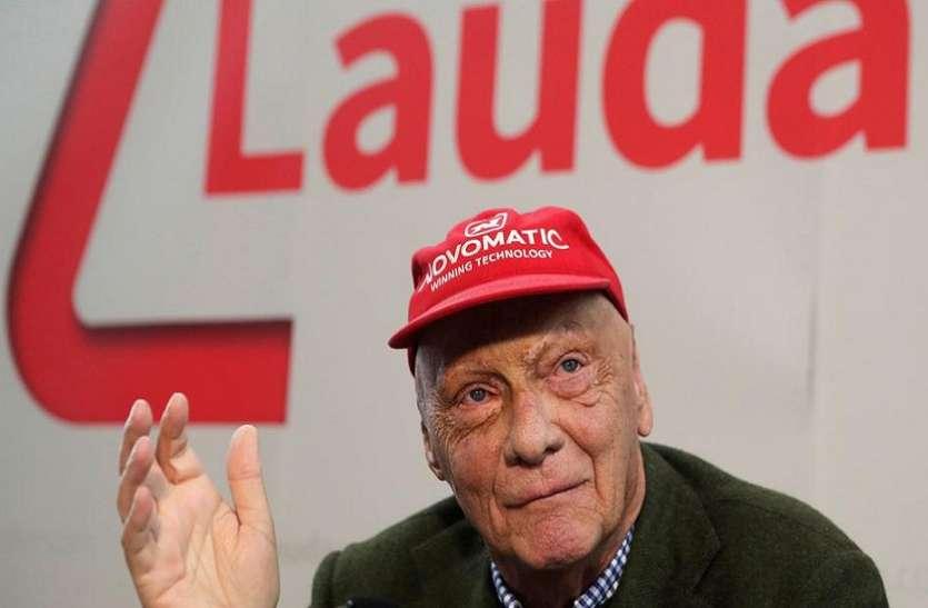 फॉर्मूला 1 के चैंपियन Niki Lauda का निधन, 70 साल की उम्र में ली आखिरी सांस