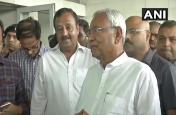 एनडीए की बैठक के लिए रवाना हुए नीतीश कुमार,बोले- एनडीए की ही होगी जीत