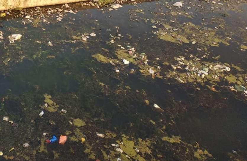 उपेक्षा से आहत नदी, मांग रही साफ-सफाई, जिम्मेदार बेखबर