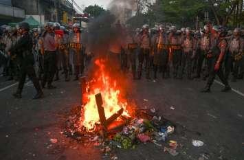इंडोनेशिया में चुनाव परिणाम की घोषणा के बाद व्यापक हिंसा, 8 लोगों की मौत, 200 से अधिक घायल
