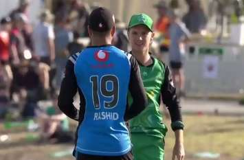 एडम जम्पा ने की अफगानी स्पिनर की जमकर तारीफ, कहा-कभी-कभार पैदा होता है राशिद जैसा खिलाड़ी