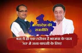 ये हैं MP में भाजपा का गणित! इस तरह से वापसी का बैठेगा आंकड़ा...