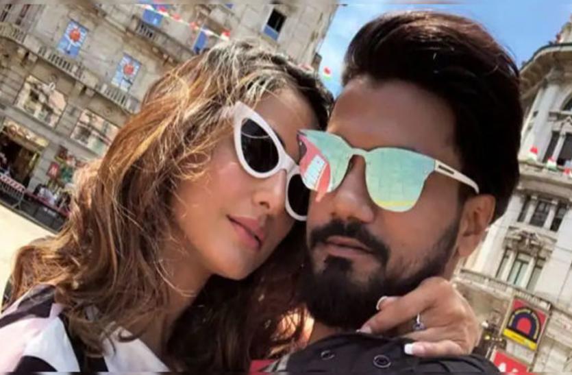 हिना खान ने सड़क पर सरेआम बॉयफ्रेंड संग की ऐसी हरकत, तस्वीरें हुई वायरल