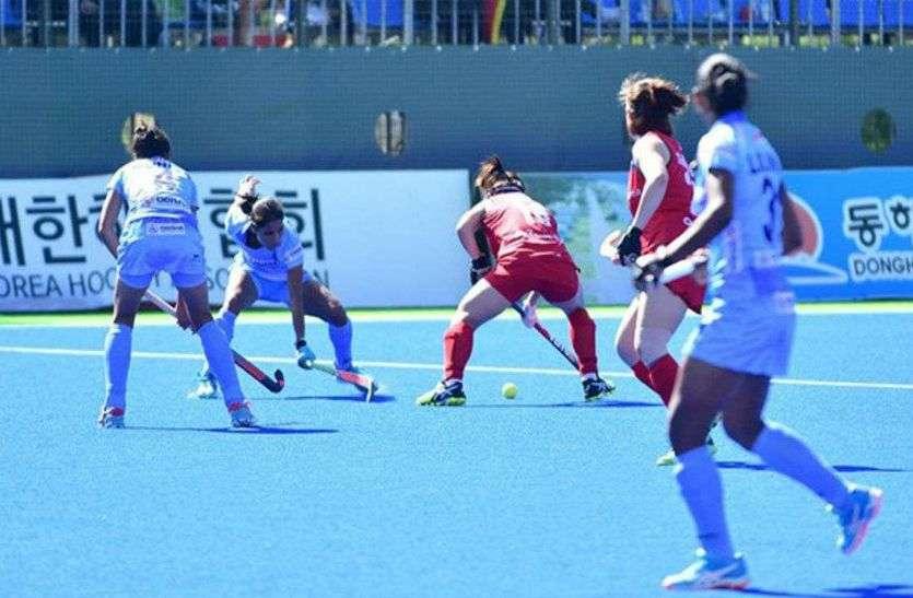 महिला हॉकी : भारत ने दक्षिण कोरिया को 2-1 से मात देकर सीरीज में बनाई 2-0 की अपराजेय बढ़त