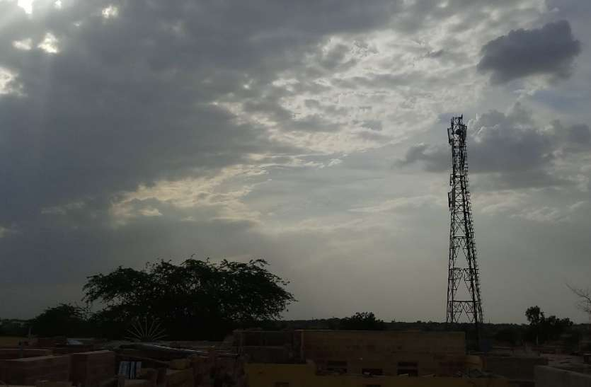 Today's Weather in Jaisalmer-22 May 2019:नाचना व चांधन में बरसे, जैसलमेर के बाशिंदे तरसे