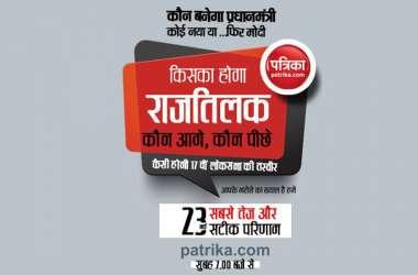 Lok Sabha 2019: एक क्लिक में जानें लोकसभा चुनाव के LIVE नतीजे