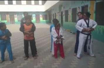 राजस्थान की प्रथम ताइक्वांडो महिला कोच