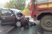ओडिशा: कालाहांडी में ट्रक ने कार को रौंदा, एक ही परिवार के पांच लोगों की मौत