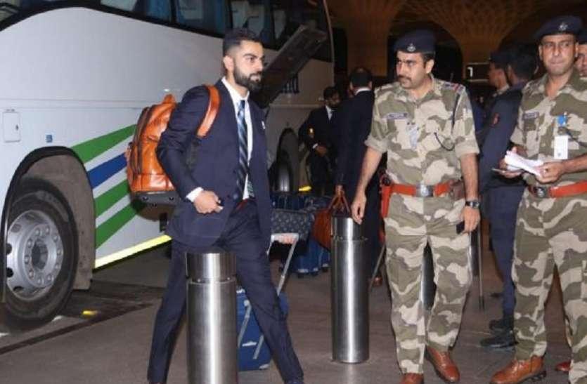 धमकी के बाद बढ़ाई गई भारतीय क्रिकेट टीम की सुरक्षा, गृह मंत्रालय और ICC तक पहुंचा मामला