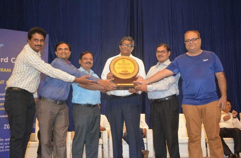 बीएसपी सीईओ ने प्रधानमंत्री श्रम पुरस्कार विजेताओं का सम्मान