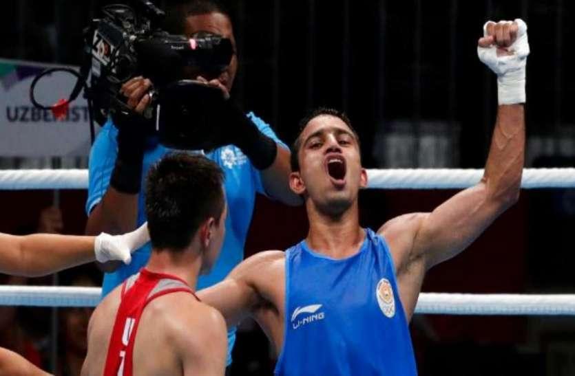 बॉक्सर अमित पंघल का धमाल, इंडिया ओपन में पक्का किया पदक