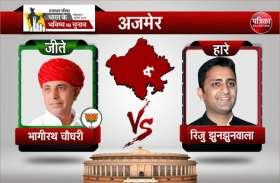 ajmer loksabha election 2019 : भाजपा ने कांग्रेंस से छीनी अजमेर संसदीय सीट