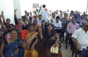 बीजेपी की बढ़त को देख भाजपा कार्यालय में एकत्रित हुए सैकड़ों कार्यकर्ता, लगे जिंदाबाद के नारे