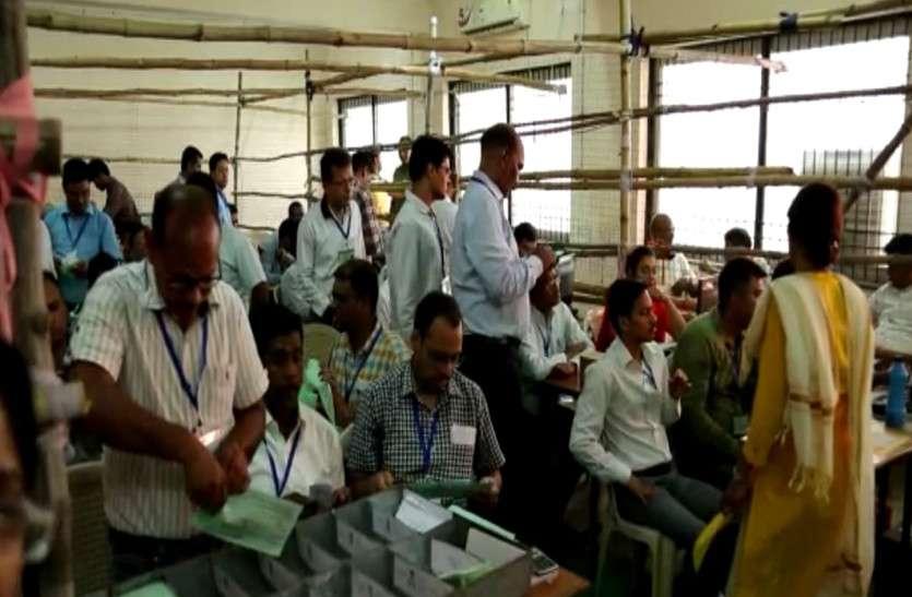 रायगढ़ से 7000 वोट से कांग्रेस के लालजीत आगे