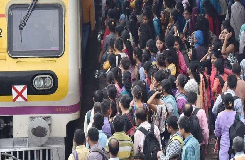 वेस्टर्न लाइन पर यात्रियों के पसीने छूटे, लाखों यात्री परेशान