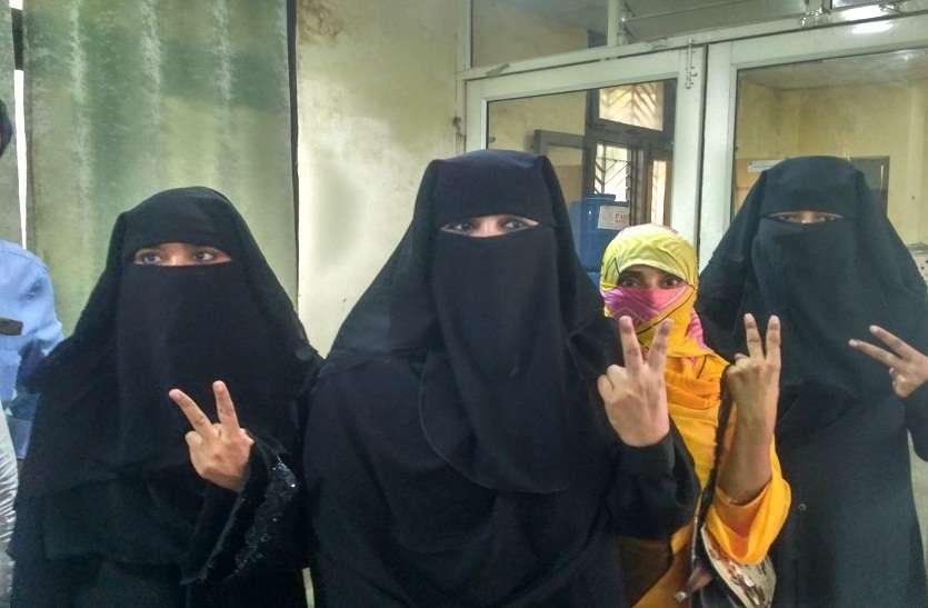 भाजपा की जीत तीन तलाक पीड़ित महिलाओं की जीत- निदा खान