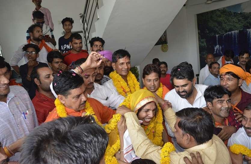 आजादी के बाद भरतपुर लोकसभा सीट पर भाजपा प्रत्याशी रंजीता कोली की सबसे बड़ी जीत