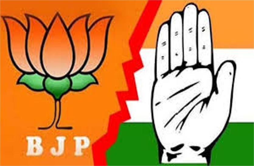बुंदेलखंड में भाजपा से आधे वोट भी नहीं ले पाई कांग्रेस