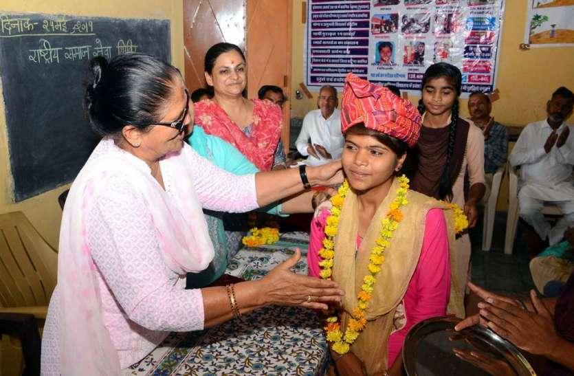 सरकारी पाठशालाओं की मेधावी छात्राओं ने बजाया कामयाबी का डंका, हुआ ज्ञान का सम्मान