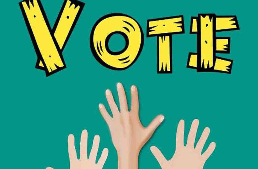 कार्मिकों के सैकड़ों वोट हो गए खारिज, आम मतदाता के शत-प्रतिशत वोट वैध