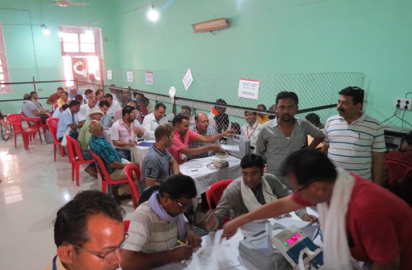 टीकमगढ़ में कांग्रेस का वोट 1.6 फीसदी बढ़ा, खजुराहो में 0.67 प्रतिशत घटा