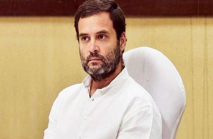 अमेठी में राहुल की हार के बाद जिलाध्यक्ष योगेद्र मिश्र ने अध्यक्ष पद से दिया इस्तीफा