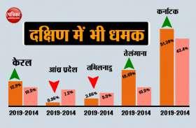 बंगाल के साथ-साथ दक्षिण में भी 'नमो-नमो', तीन राज्यों में BJP की बड़ी सेंध