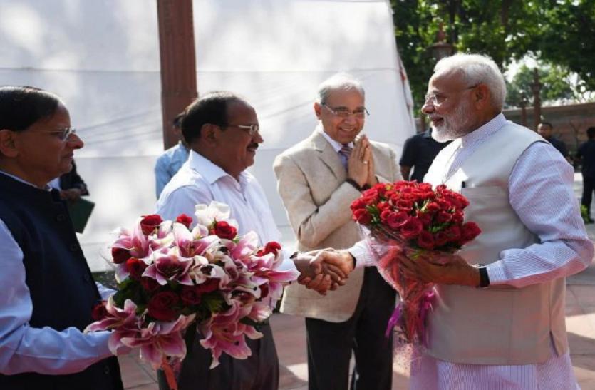 PM मोदी ने चुनाव में जीत के लिए PMO स्टाफ और उनके परिजनों को कहा शुक्रिया