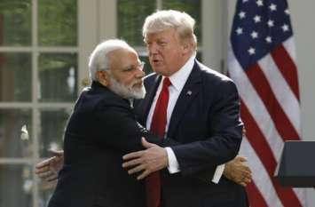 भारत के लोग भाग्यशाली हैं कि उनके पास नरेंद्र मोदी जैसा नेता है: डोनाल्ड ट्रंप