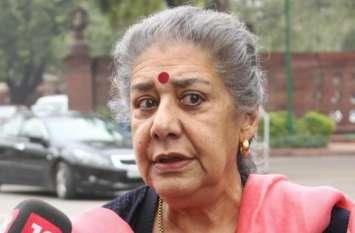 Video: कांग्रेस CWC बैठक के बाद अंबिका सोनी का बयान, 'नहीं उठे राहुल गांधी के लीडरशीप पर सवाल'