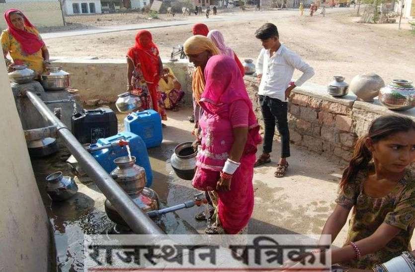 PICS :पानी की कमी के चलते होने लगी पेयजल किल्लत