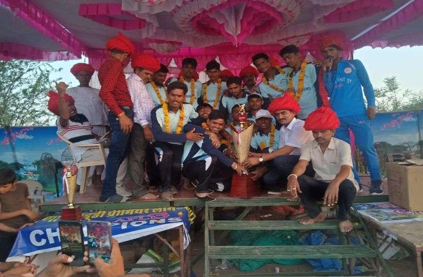 आंजणा युवा महासंगठन खारल परगना : क्रिकेट में सेऊड़ा व कबड्डी में मनादर की खिताबी जीत