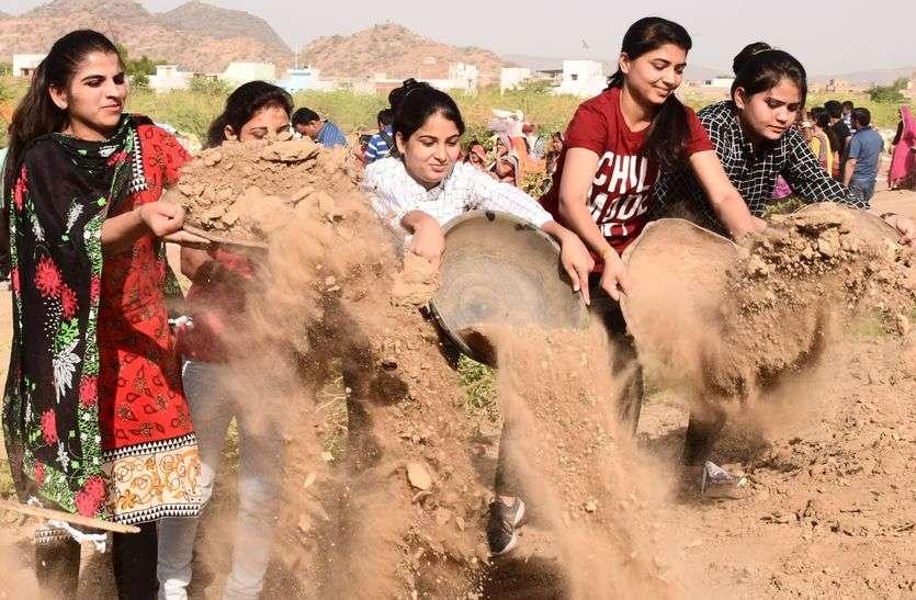 राजस्थान पत्रिका अमृतम जलम अभियान- जल बचेगा तो धरती रहेगी आबाद