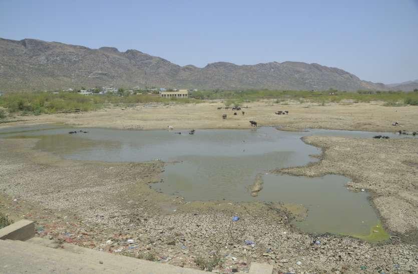 Ajmer- चौरसियावास तालाब पर अतिक्रमियों की गिद्धदृष्टि
