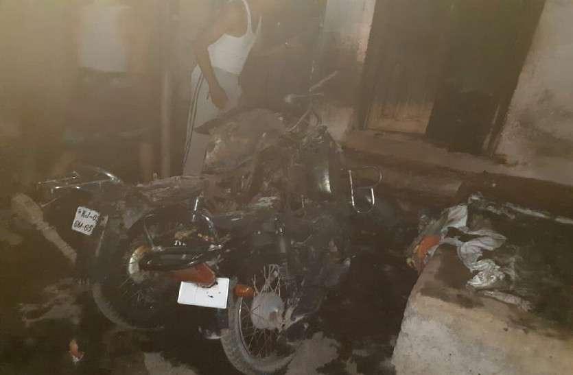 राजसमंद में युगल पर आग का कहर, दुकान में सो रही पत्नी जिंदा जली, पति झुलसा