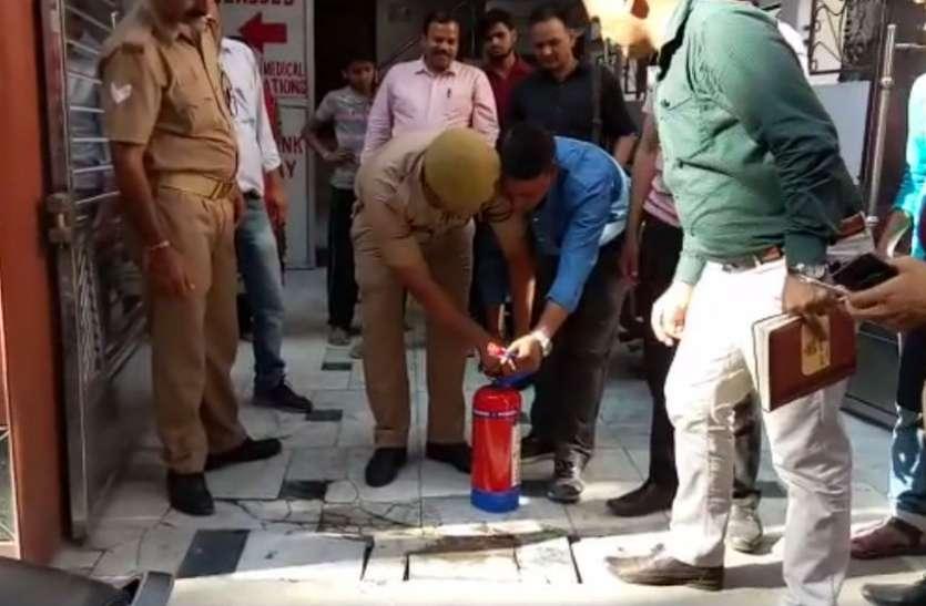 सूरत अग्निकांड के बाद सुहागनगरी में अग्निशमन विभाग की कोचिंग सेंटरों पर छापेमारी, आग से बचाव को लेकर दी गई जानकारी, देखें वीडियो