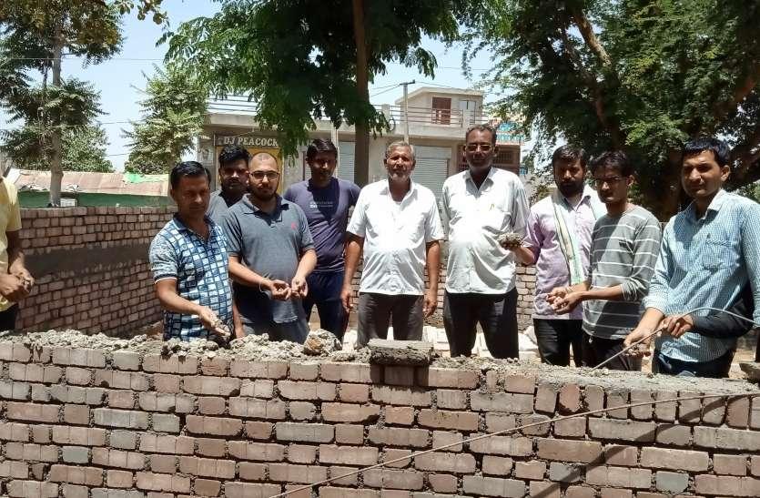 ग्रामीणों ने विरोध प्रदर्शन कर रुकवाया निर्माण कार्य...देखे वीडियो