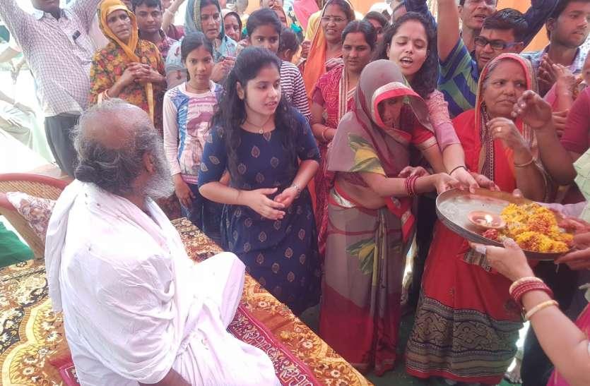 जयपुर ग्रामीण: शिव पंचायत मूर्तियों को कराया नगर भ्रमण, उमड़ी श्रद्धा