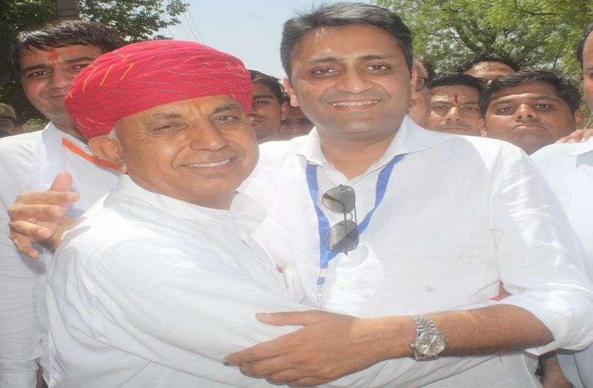 Ajmer Election Result- रिजु ने 13, भागीरथ ने 185 राउण्ड में ली बढ़त