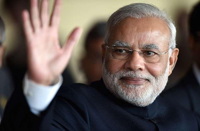 पीएम मोदी फिर चुने गए राजग संसदीय दल के नेता