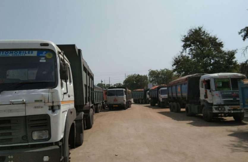 प्रतिबंधित मार्ग से कोल परिवहन करते ट्रेलर वाहन जब्त, जानिए कैसे हुई कार्रवाई