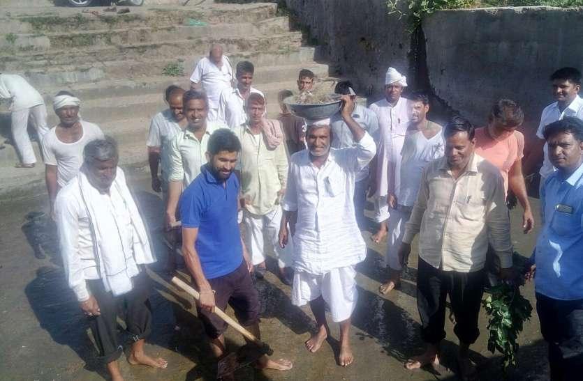 जयपुर ग्रामीण: श्रमदान से चमक उठे बाणगंगा धाम के पाण्डवकालीन प्राकृतिक कुण्ड