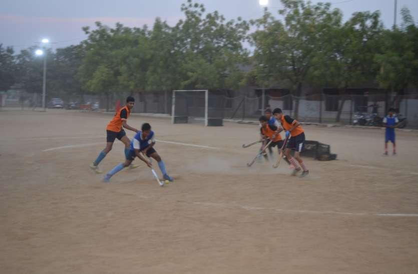 हॉकी प्रतियोगिता में मोहित इलेवन और उज्जवल इलेवन ने जीता मैच