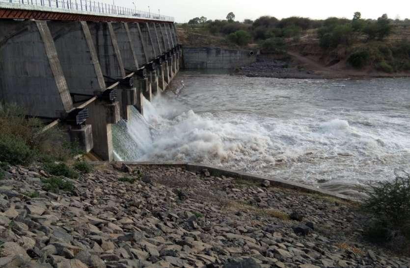 उज्जैन के लिए छोड़ा शिप्रा डेम से पानी, 11 गेट खोले