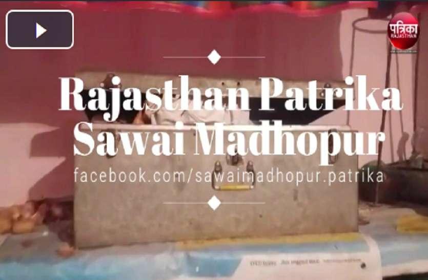 VIDEO : चोरों ने लाखों के जेवर उड़ाए, गंगापुरसिटी के ताजपुर गांव की वारदात